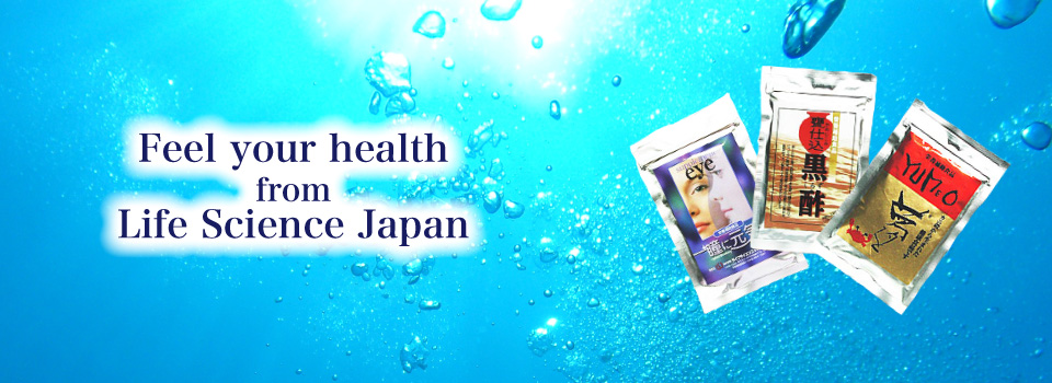 Feel your health from Life Science Japan